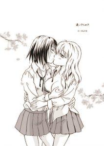 【エロ漫画】キスする関係でそれ以上でもそれ以下でもない2人のJKがついに一線を越える!!【無料 エロ同人】