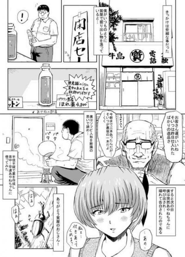 【エロ漫画】憧れの巨乳JKを惚れ薬でモノにしたブサイクメガネ男がセックスしまくっちゃう☆【無料 エロ同人】 (3)