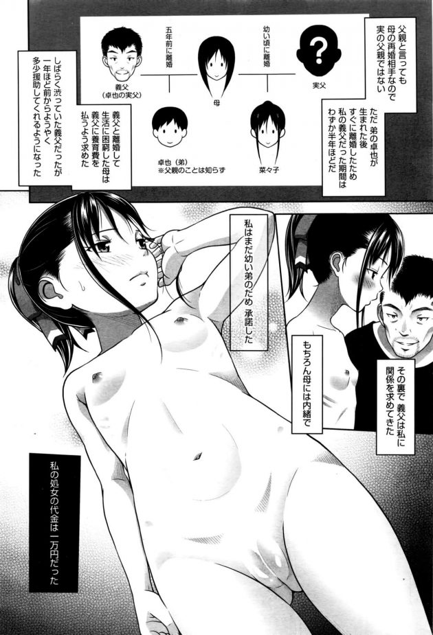 【エロ漫画】貧乳ちっぱいのセーラー服JCが学校帰りにホテルに連れて生ハメされて中出しセックス【無料 エロ同人】(6)